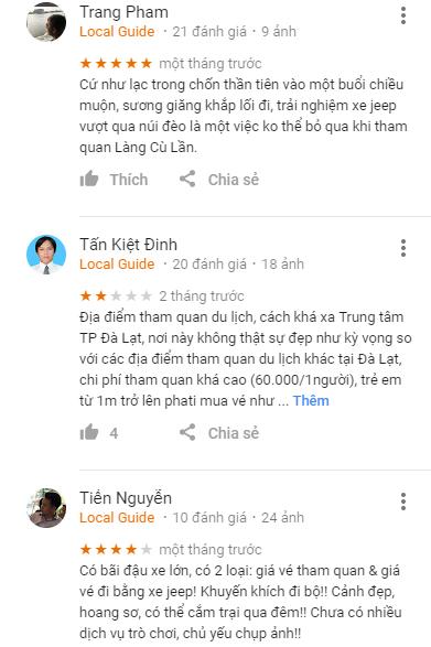 Review làng Cù Lần