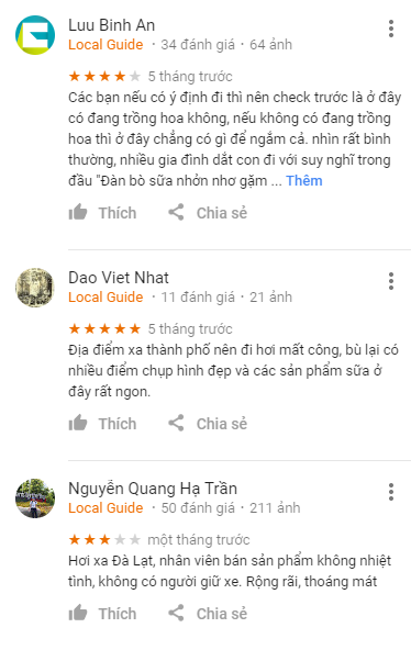 Review Đà Lạt Milk Farm