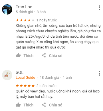 Review Sense Coffee Đà Lạt