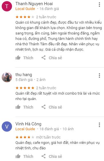 Review cafe Thiên Thanh Đà Lạt