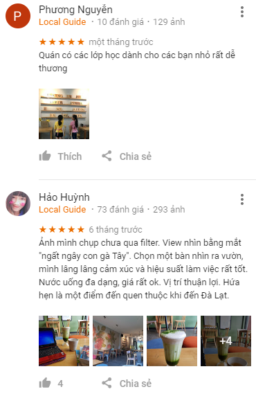 Review quán cafe Leos Kitchen Đà Lạt