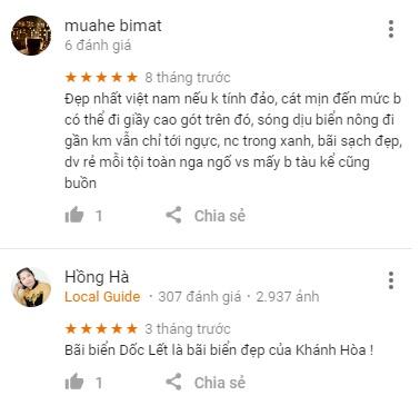 Review bãi biển Dốc Lết Nha Trang